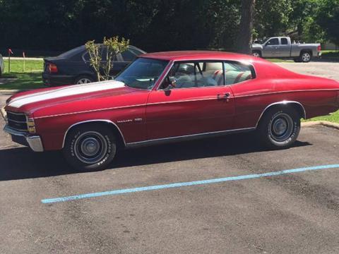 1971 Chevrolet Chevelle for sale in Cadillac, MI