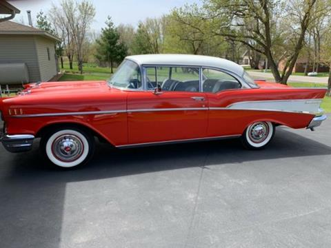1957 Chevrolet Bel Air For Sale In Cadillac Mi