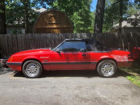1986 Ford Mustang for sale in Cadillac, MI