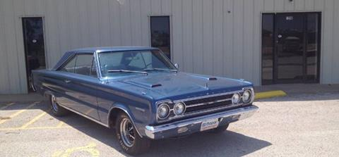 1967 Plymouth GTX for sale in Cadillac, MI
