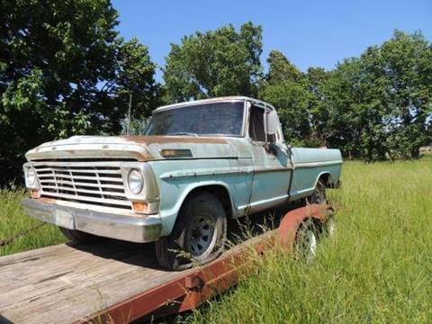 1967 Ford F-100 for sale in Cadillac, MI