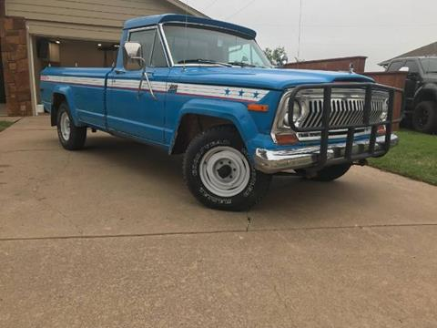 1978 Jeep J-10 Pickup for sale in Cadillac, MI