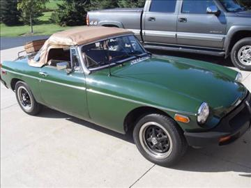1978 MG MGB for sale in Cadillac, MI