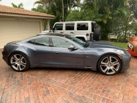 2012 Fisker Karma for sale in Cadillac, MI