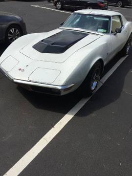 1970 Chevrolet Corvette for sale in Cadillac, MI