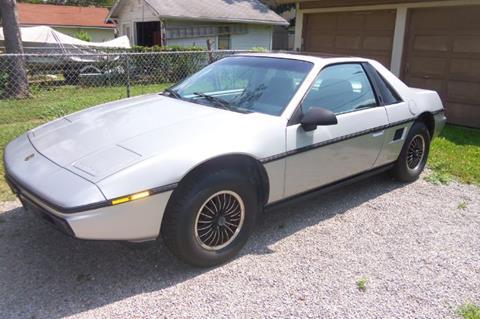 1985 Pontiac Fiero for sale in Cadillac, MI