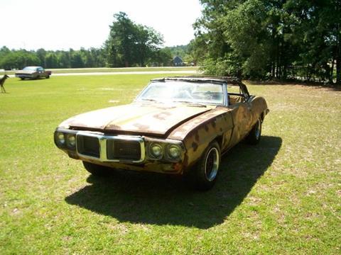 1969 Pontiac Firebird for sale in Cadillac, MI