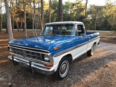 1971 Ford F-100 for sale in Cadillac, MI