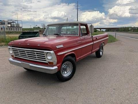 1967 Ford F-250 for sale in Cadillac, MI