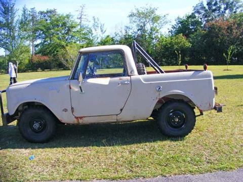 1966 International Scout for sale in Cadillac, MI