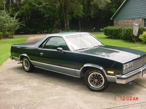 Used 1985 Chevrolet El Camino For Sale Carsforsalecom