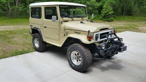 1982 Toyota Land Cruiser for sale in Cadillac, MI