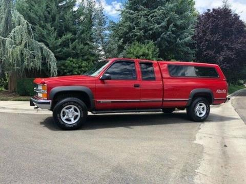 1996 Chevrolet Silverado 2500HD for sale in Cadillac, MI