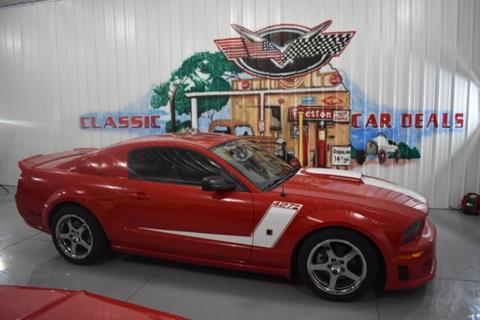2008 Ford Mustang for sale in Cadillac, MI
