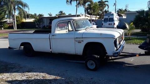 1966 Dodge D200 Pickup for sale in Cadillac, MI