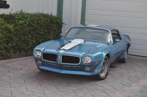 1971 Pontiac Trans Am for sale in Cadillac, MI