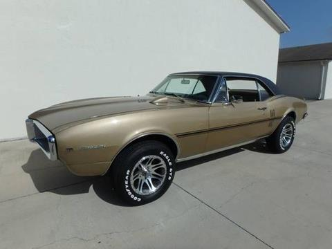 1967 Pontiac Firebird for sale in Cadillac, MI