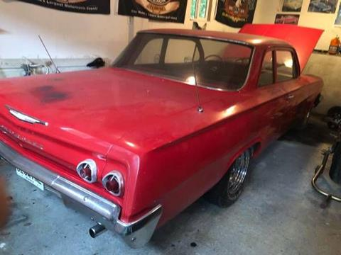 1962 Chevrolet Biscayne for sale in Cadillac, MI