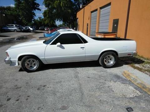 Used 1979 Chevrolet El Camino For Sale In North Carolina