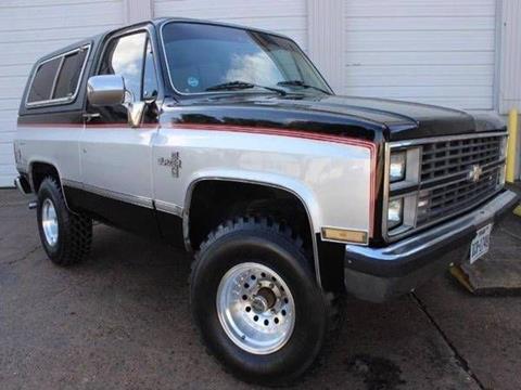 1984 Chevrolet Blazer for sale in Cadillac, MI