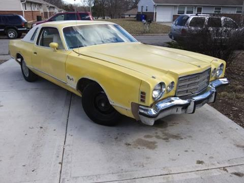 1976 Dodge Charger for sale in Cadillac, MI