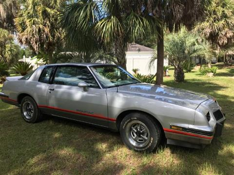 1986 Pontiac Grand Prix for sale in Cadillac, MI