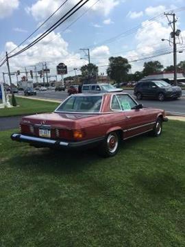 1975 Mercedes-Benz 450 SL for sale in Cadillac, MI