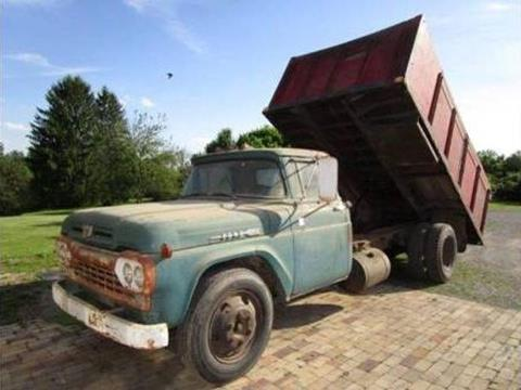 1958 Ford F-600 for sale in Cadillac, MI