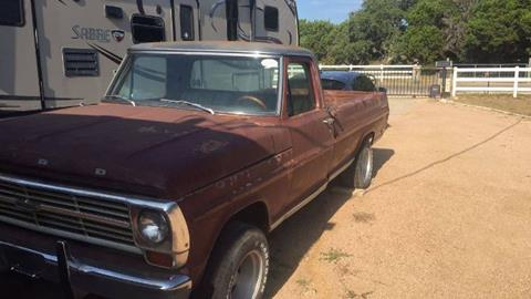 1969 Ford F-100 for sale in Cadillac, MI