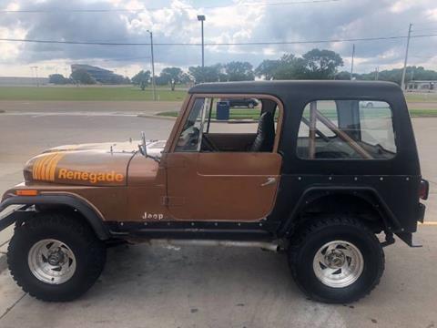 1979 Jeep CJ-7 for sale in Cadillac, MI