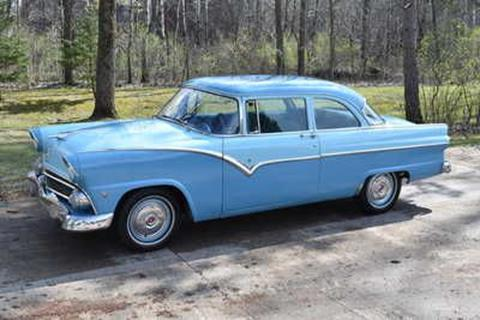 1955 Ford Fairlane for sale in Cadillac, MI