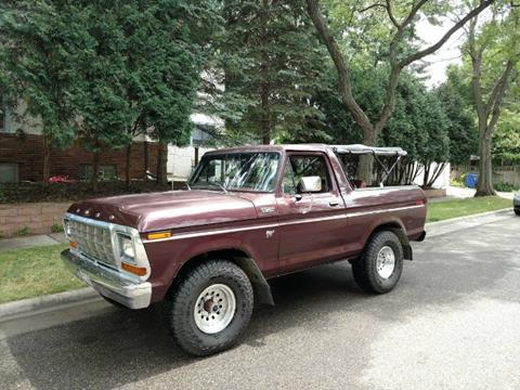 1979 Ford Bronco for sale in Cadillac, MI