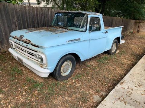 1961 Ford F-150 for sale in Cadillac, MI