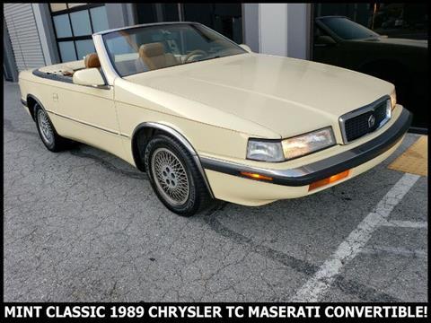 1989 Chrysler TC for sale in Cadillac, MI