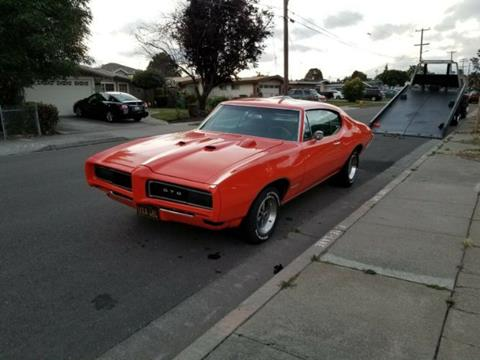 1969 Pontiac GTO for sale in Cadillac, MI