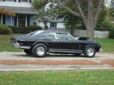 1969 Chevrolet Nova for sale in Cadillac, MI