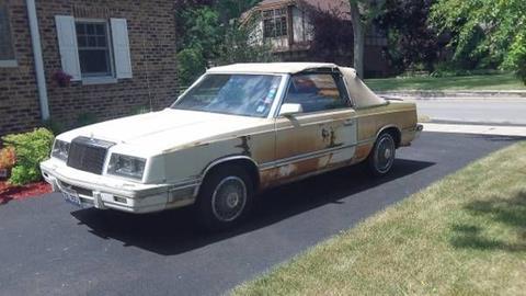 1982 Chrysler Le Baron for sale in Cadillac, MI