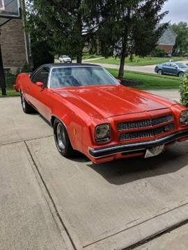 Chevrolet El Paso >> 1973 Chevrolet El Camino For Sale In Cadillac Mi