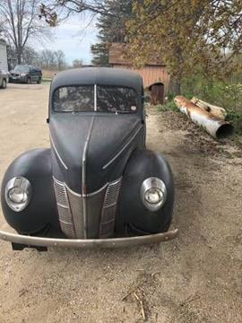 1940 Ford Deluxe for sale in Cadillac, MI