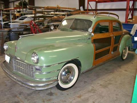 1947 Chrysler Town and Country for sale in Cadillac, MI