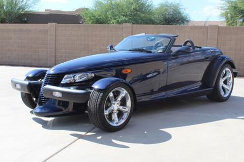 2001 Chrysler Prowler for sale in Cadillac, MI