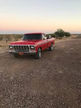 1979 Ford F-150 for sale in Cadillac, MI