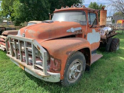 1955 Ford F-750 for sale in Cadillac, MI
