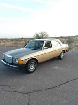 1983 Mercedes-Benz 300-Class for sale in Cadillac, MI