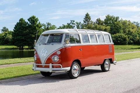 1963 Volkswagen Bus for sale in Cadillac, MI
