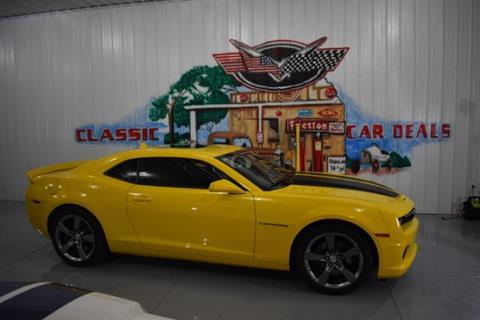 2012 Chevrolet Camaro for sale in Cadillac, MI