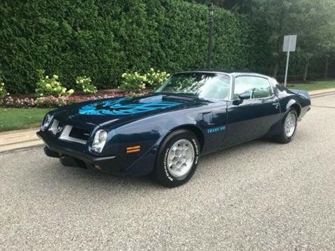 1974 Pontiac Trans Am for sale in Cadillac, MI