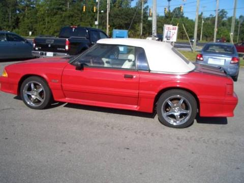1992 Ford Mustang for sale in Cadillac, MI