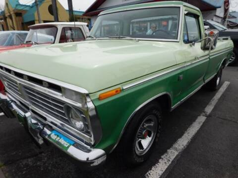 1973 Ford F-100 for sale at Classic Car Deals in Cadillac MI