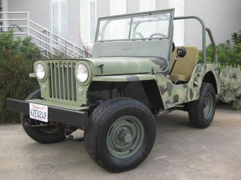 1948 Willys CJ-2A for sale in Cadillac, MI
